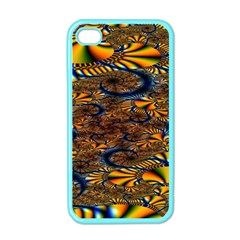 Pattern Bright Apple Iphone 4 Case (color) by BangZart