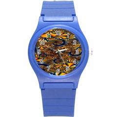Pattern Bright Round Plastic Sport Watch (s) by BangZart