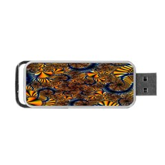 Pattern Bright Portable Usb Flash (two Sides) by BangZart
