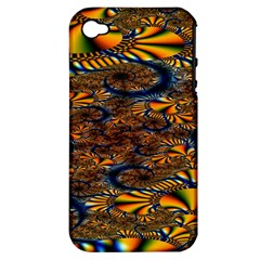 Pattern Bright Apple Iphone 4/4s Hardshell Case (pc+silicone) by BangZart