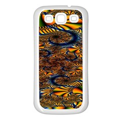 Pattern Bright Samsung Galaxy S3 Back Case (white) by BangZart