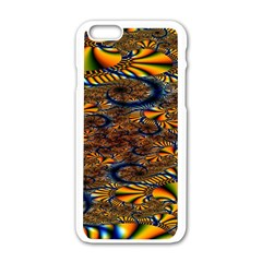 Pattern Bright Apple Iphone 6/6s White Enamel Case by BangZart
