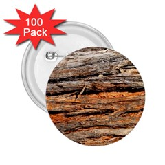 Natural Wood Texture 2 25  Buttons (100 Pack)