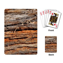 Natural Wood Texture Playing Card by BangZart