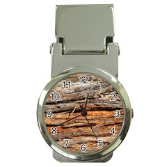 Natural Wood Texture Money Clip Watches by BangZart