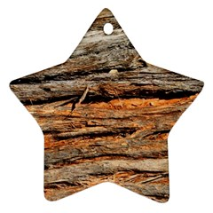 Natural Wood Texture Star Ornament (two Sides) by BangZart