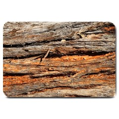 Natural Wood Texture Large Doormat  by BangZart