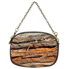 Natural Wood Texture Chain Purses (one Side)  by BangZart