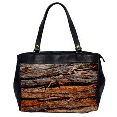 Natural Wood Texture Office Handbags by BangZart