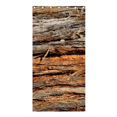 Natural Wood Texture Shower Curtain 36  X 72  (stall)  by BangZart