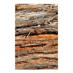 Natural Wood Texture Shower Curtain 48  X 72  (small)  by BangZart