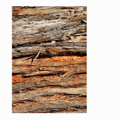 Natural Wood Texture Large Garden Flag (two Sides) by BangZart