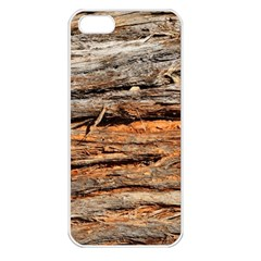 Natural Wood Texture Apple Iphone 5 Seamless Case (white)