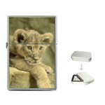 Lion Cub Flip Top Lighter