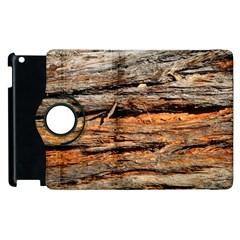 Natural Wood Texture Apple Ipad 3/4 Flip 360 Case by BangZart