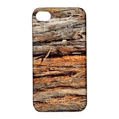 Natural Wood Texture Apple Iphone 4/4s Hardshell Case With Stand by BangZart