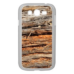 Natural Wood Texture Samsung Galaxy Grand Duos I9082 Case (white) by BangZart