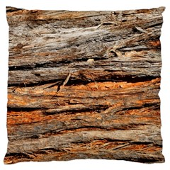 Natural Wood Texture Standard Flano Cushion Case (two Sides) by BangZart