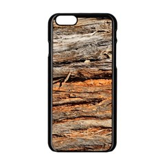Natural Wood Texture Apple Iphone 6/6s Black Enamel Case by BangZart