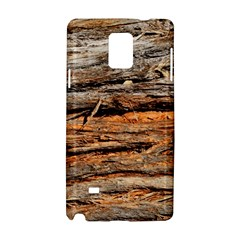 Natural Wood Texture Samsung Galaxy Note 4 Hardshell Case by BangZart