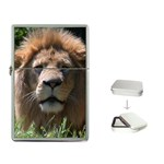 Lion Flip Top Lighter