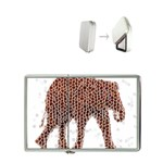 Red Elephant Calf Mosaic Flip Top Lighter