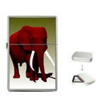 Red Elephant Flip Top Lighter