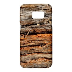 Natural Wood Texture Samsung Galaxy S7 Hardshell Case