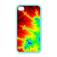 Misc Fractals Apple Iphone 4 Case (color) by BangZart