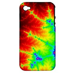 Misc Fractals Apple Iphone 4/4s Hardshell Case (pc+silicone) by BangZart