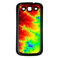 Misc Fractals Samsung Galaxy S3 Back Case (black) by BangZart