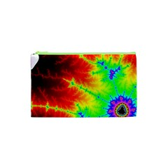Misc Fractals Cosmetic Bag (xs) by BangZart