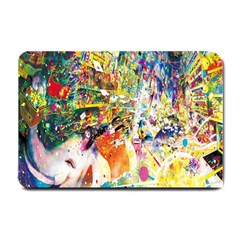 Multicolor Anime Colors Colorful Small Doormat  by BangZart