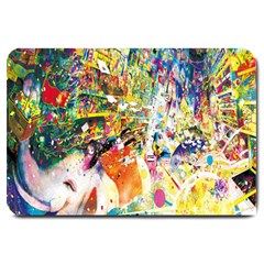 Multicolor Anime Colors Colorful Large Doormat  by BangZart