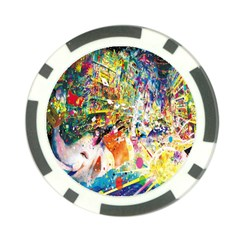 Multicolor Anime Colors Colorful Poker Chip Card Guard (10 Pack)
