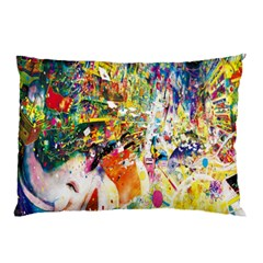 Multicolor Anime Colors Colorful Pillow Case (two Sides) by BangZart