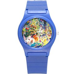 Multicolor Anime Colors Colorful Round Plastic Sport Watch (s) by BangZart