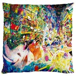 Multicolor Anime Colors Colorful Large Cushion Case (Two Sides) Back