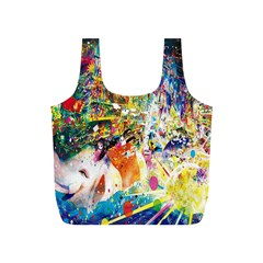 Multicolor Anime Colors Colorful Full Print Recycle Bags (s)