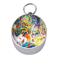 Multicolor Anime Colors Colorful Mini Silver Compasses
