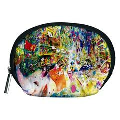 Multicolor Anime Colors Colorful Accessory Pouches (medium)