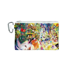 Multicolor Anime Colors Colorful Canvas Cosmetic Bag (s) by BangZart