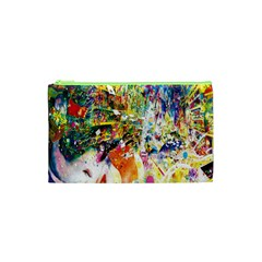 Multicolor Anime Colors Colorful Cosmetic Bag (xs) by BangZart