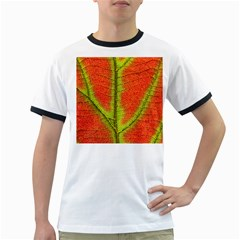 Nature Leaves Ringer T Shirts