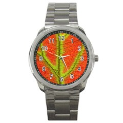 Nature Leaves Sport Metal Watch by BangZart