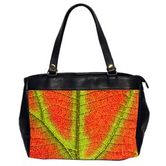 Nature Leaves Office Handbags (2 Sides)  by BangZart