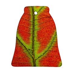 Nature Leaves Bell Ornament (two Sides)