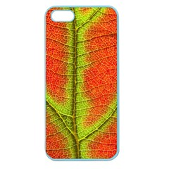Nature Leaves Apple Seamless Iphone 5 Case (color) by BangZart