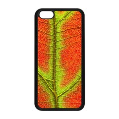 Nature Leaves Apple Iphone 5c Seamless Case (black)