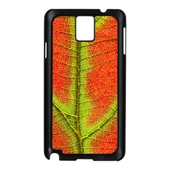 Nature Leaves Samsung Galaxy Note 3 N9005 Case (black)